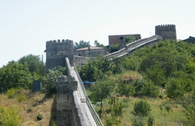 Signaghi Fortress-Fence