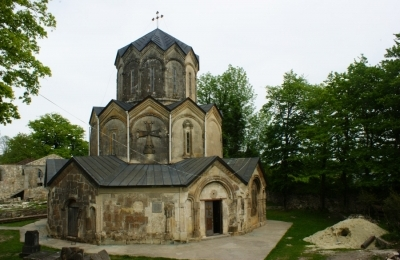 Katskhi's Cylindrical form Church